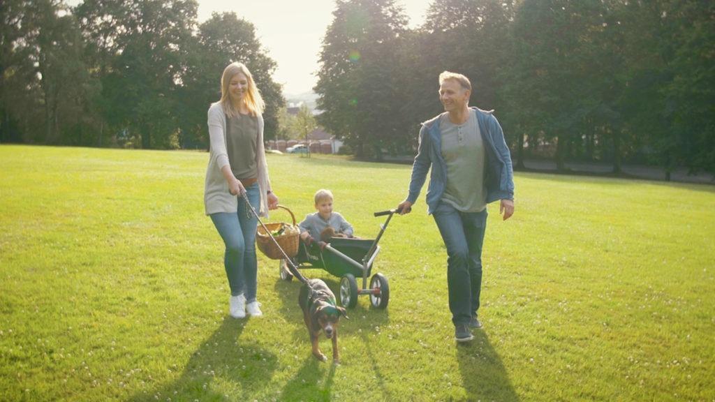 """Spaß an Bewegung """"Junge Familien"""" – HUDORA"""